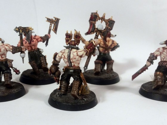 Khorne Bloodbound Skirmish Warband