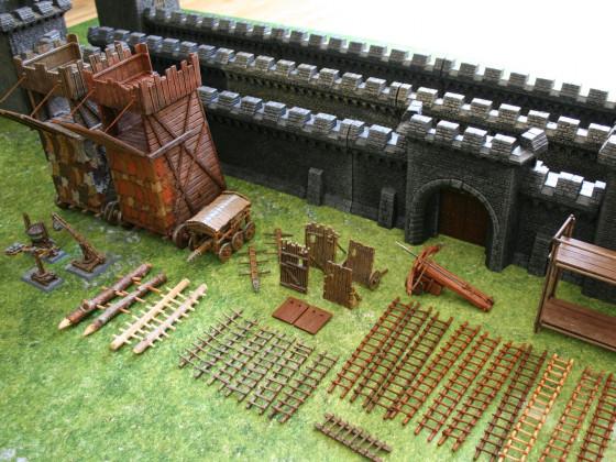 Belagerungsgeräte und Befestigungsanlagen - Bestandsaufnahme