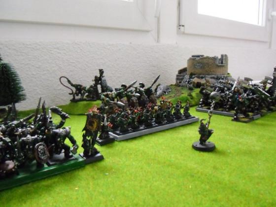 Orks&Goblins Armee - Warhammer Online Probelauf