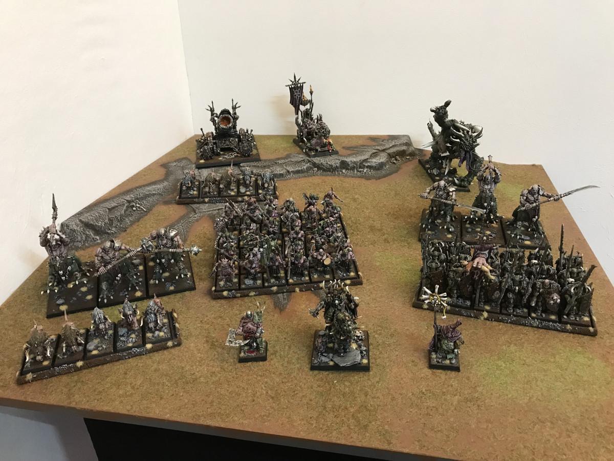 Krieger des Chaos Armee