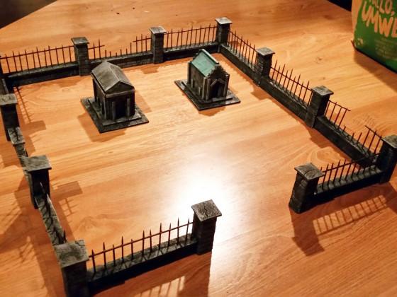 WIP Deathrattle Friedhof
