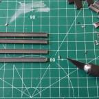 Zuschneiden der T-Träger
