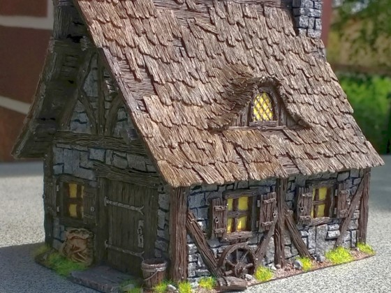 Cottage - Tabletop World