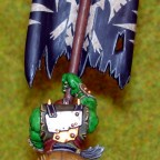 Ork Banner Rücken