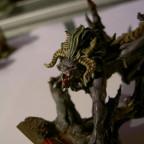 Mein Manticor, wird als Schrecken der Unterwelt verwendet (Reiter ist noch in der Bemalphase)