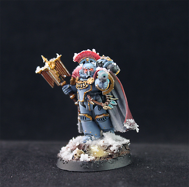Space Wolves... Chaplain?!