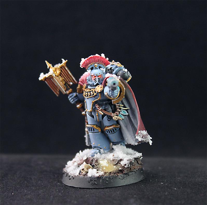 Space Wolves... Chaplain?!