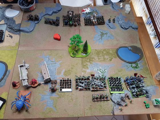 Skaven Vs. Orks vor der Schlacht