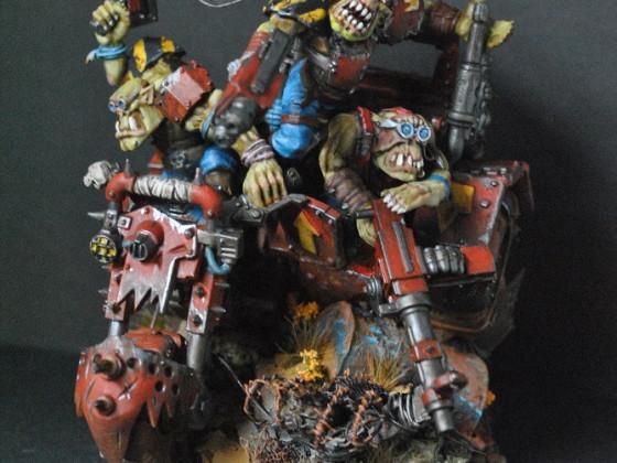 Ork Trike Front