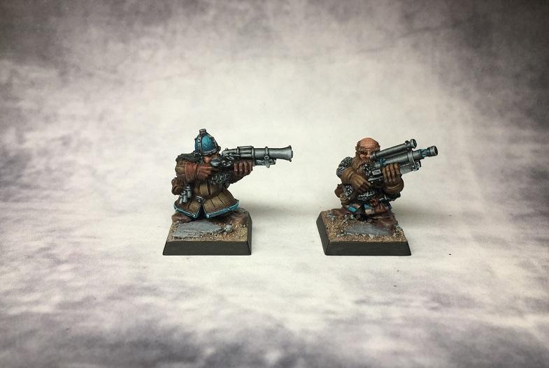 Musketenschützen Front