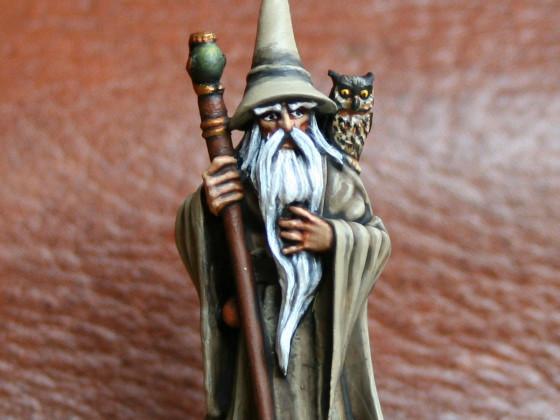 Wolfram 'Ulvr' Sturmrufer - Nebelmagier (Grey Wizard)