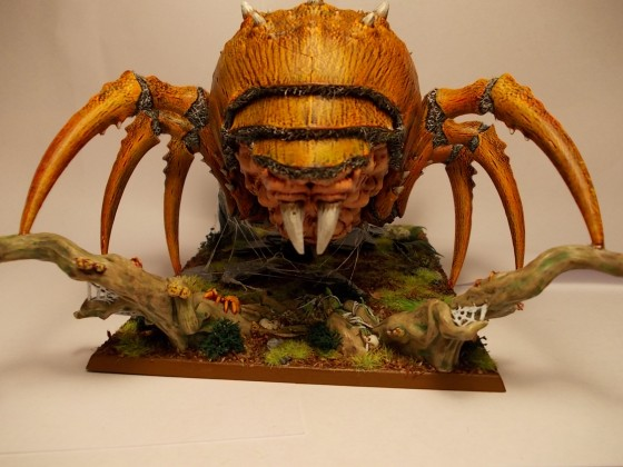 Arachnarok von Hinten