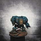 Space Marines Cybot Front