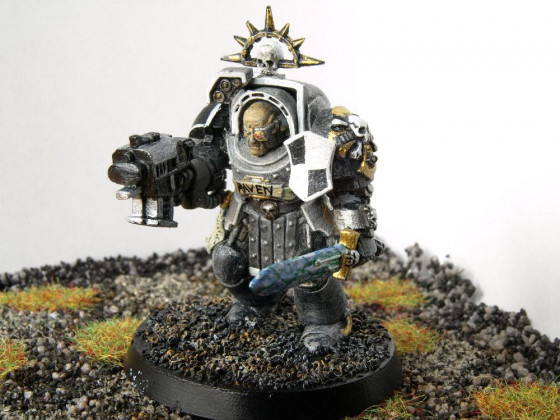 Terminator 40k Raven-Guard Standardbemalung Elite