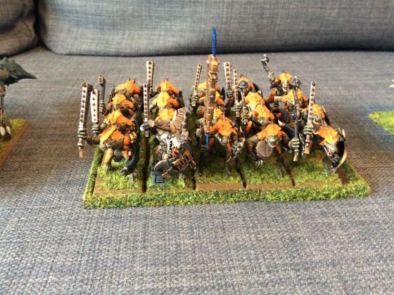 Hornnacken in Sauruskriegern