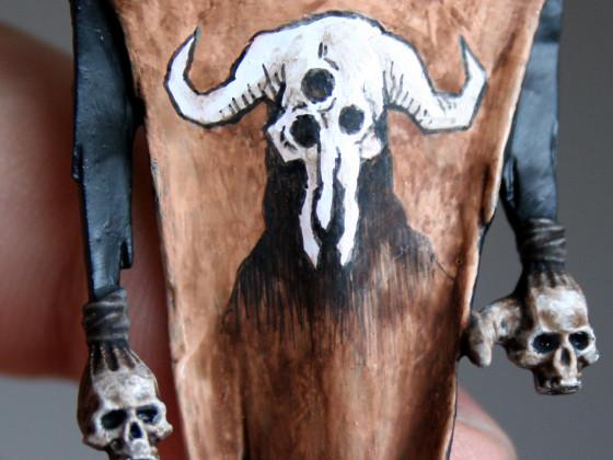 Banner der dreiäugigen Bestie