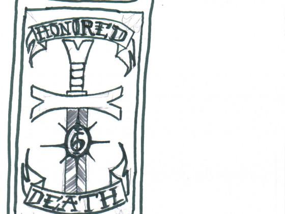 Banner der 6. Kompanie der Grey Templars
