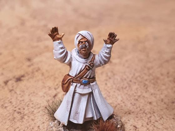 Abdallah ibn Mustari, Scheich der Sufis