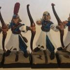 6 Bogenschützen