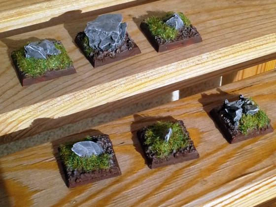 Felsenbases als Einheitenfüller