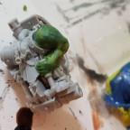 Aus Robot mach Zwerg - dank Green Stuff