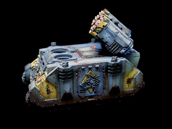 40k Space Wolfes Whirlwind