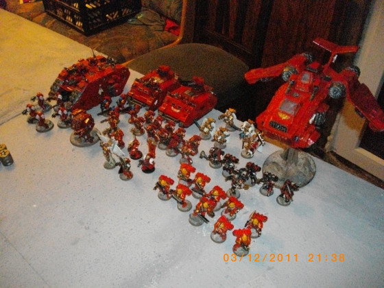 Streitmacht der Blood Angels