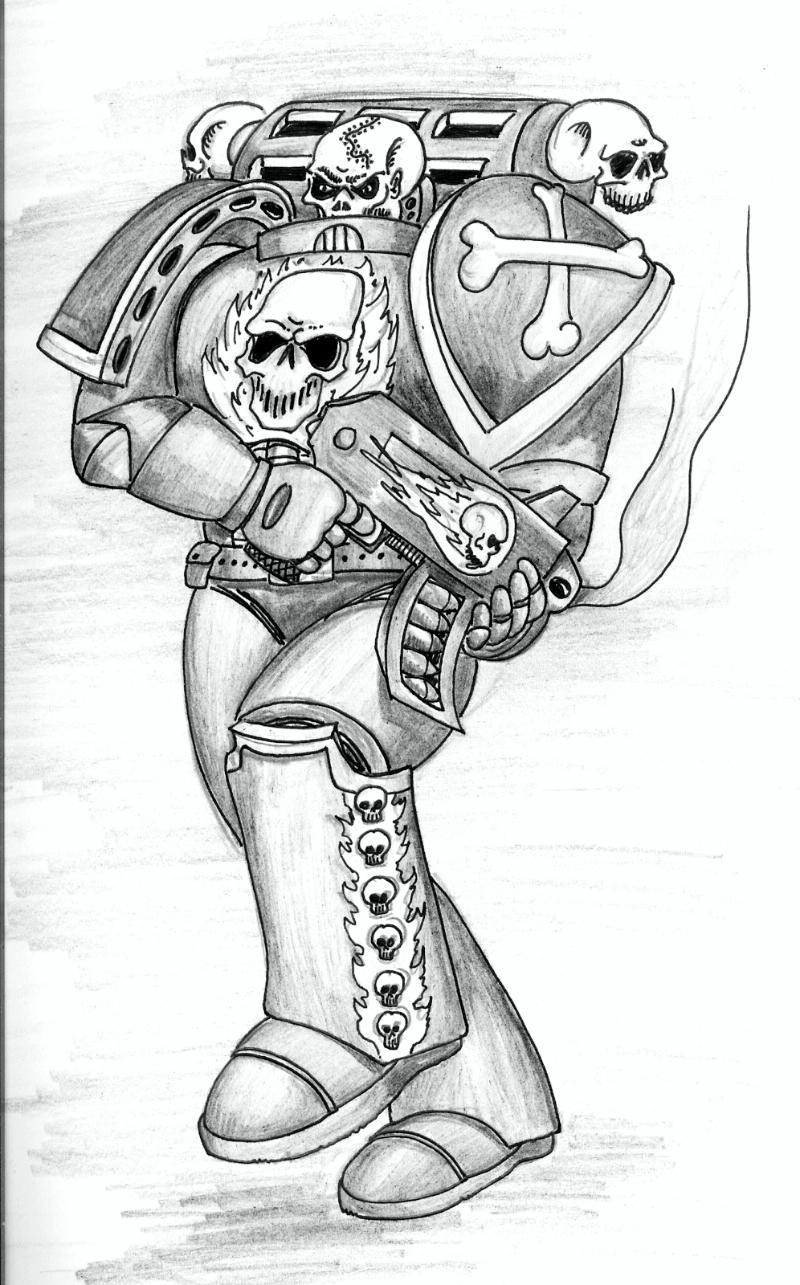 76893_md-80´s, Artwork, Daemons, Drawings, First Edition, Old Style, Space Marines