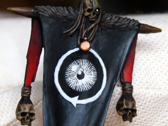 Banner des allsehenden Auges