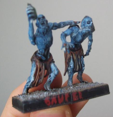 Säufer-Zombies oder -Ghule