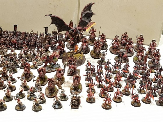 Khorne Armee so far so good