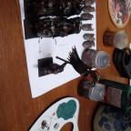Work in progress: Auserkorene des Tzeentch mit Hellebarden + AST des Tzeentch