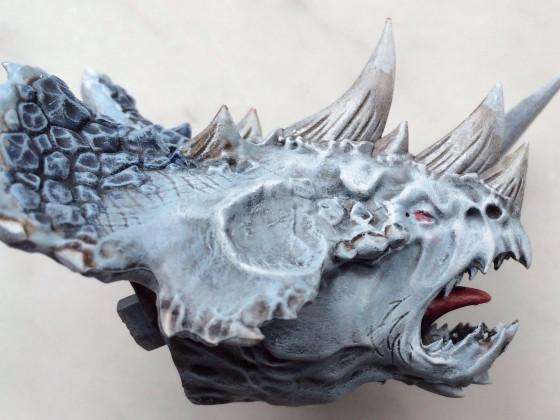 Stegadon Kopf