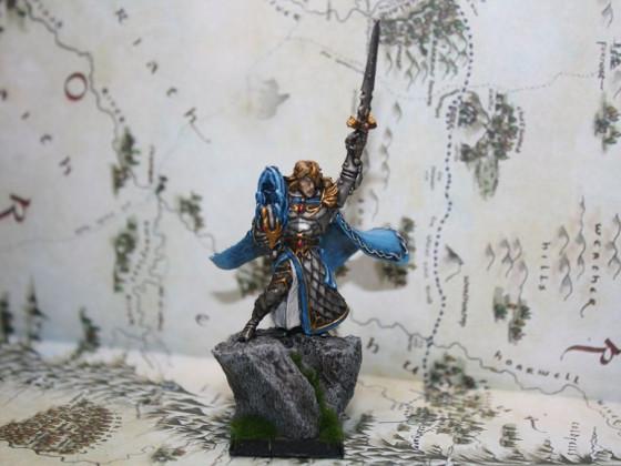 Hochelf Avatar of war
