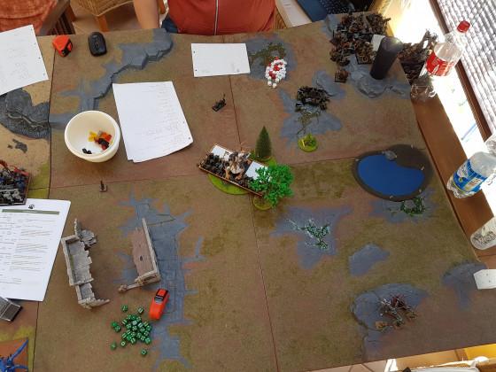Skaven Vs. Orks nach der Schlacht