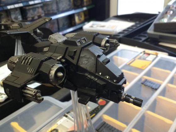 Freehand auf Ravenwing Flieger