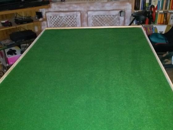 Spontan einen Spieletisch gebaut