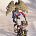 Armeestandartenträger des Imperiums aus Altdorf mit Babygreif.