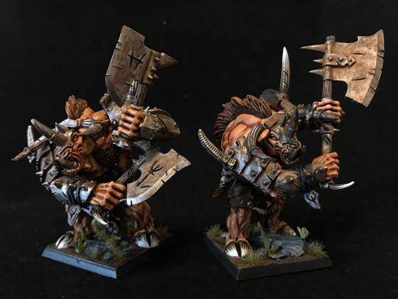 Zwei Minotauruslords