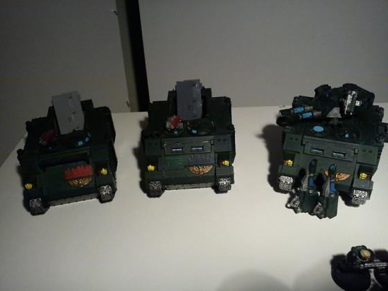 Unterstützung Panzer