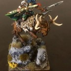 Wood Elf Hero onStag