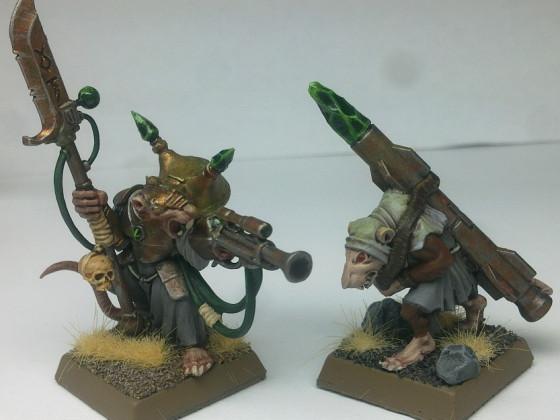 Ein Warlock und sein Raketenschlepper