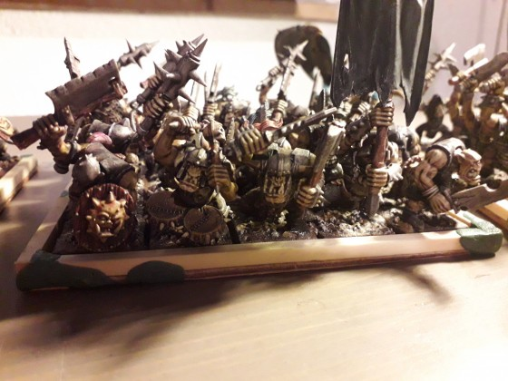 Meine Horde hat nach 16 Jahren endlich Farbe bekommen.... schade dass es Warhammer Fantasy nicht mehr gibt