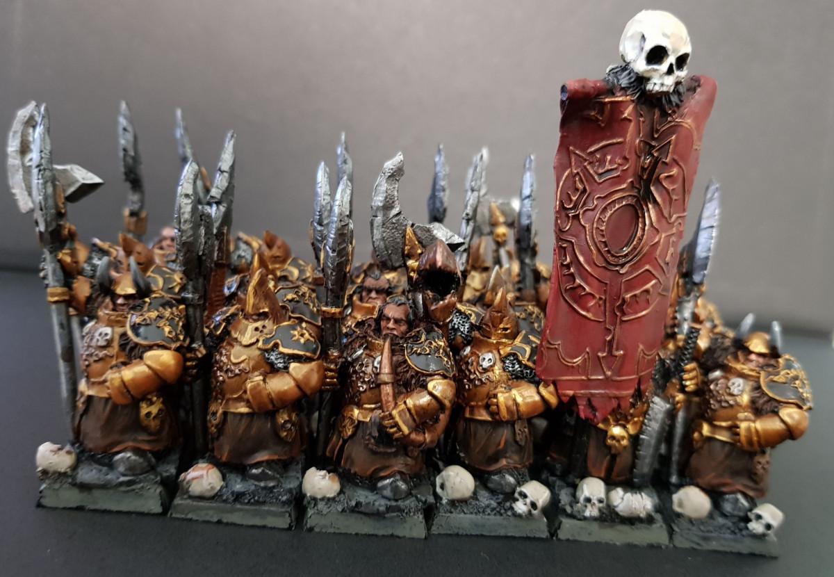 Chaos Dwarf Immortals