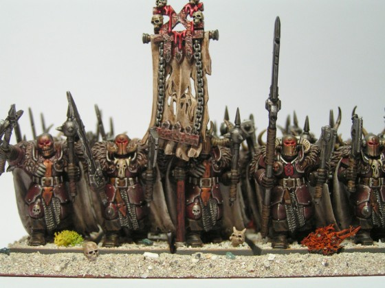 Khorne Chaoskrieger frisch aus der Chaoswüste