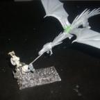 Fliegender, feuerspeiender Hochelfendrache WIP
