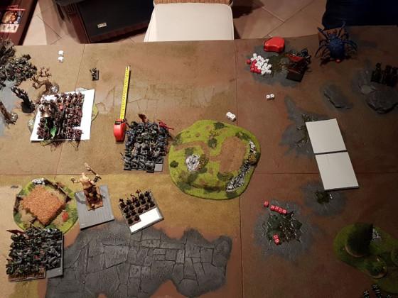 O&G vs. Skaven Zug 3 Orks