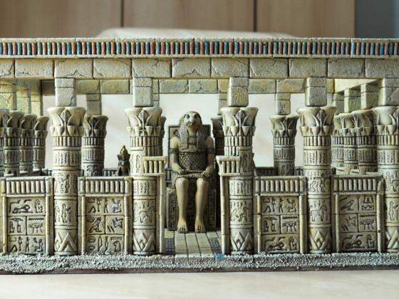 Ein Tempel von Khemri