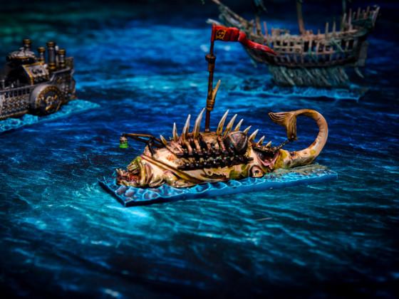 Schorfus - Geheimnisvolles lebendes Schiff der Skaven (Malkrieg 2018)