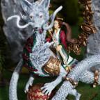 Magierin auf jungem Drachen 2